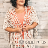 Key Largo Ruana - Crochet Pattern