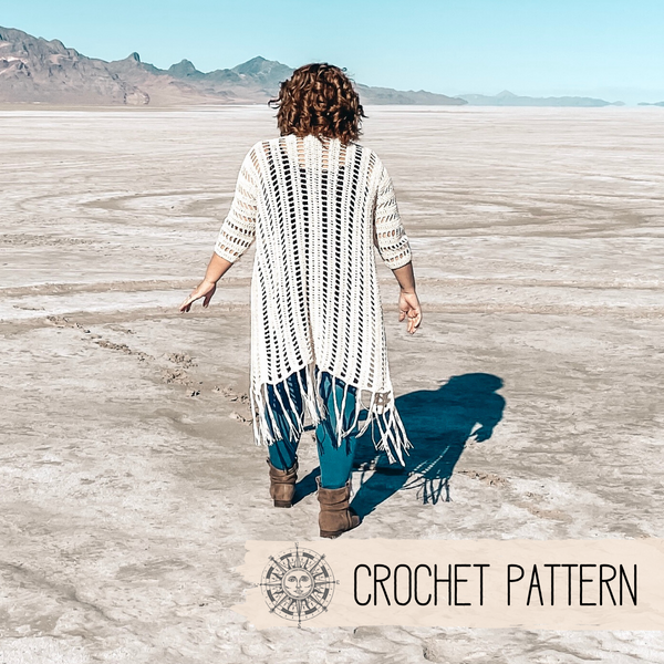 Salt Flats Duster - S/M + L/XL - Crochet Pattern