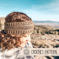 The Summit Headband - Crochet Pattern