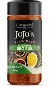 JOJO'S SEASONING ST. LOUIS STYLE BBQ RUB