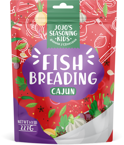 JoJo's Fish Breading Cajun Kid's