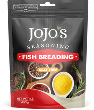Load image into Gallery viewer, JoJo's Salt Free Fish Breading
