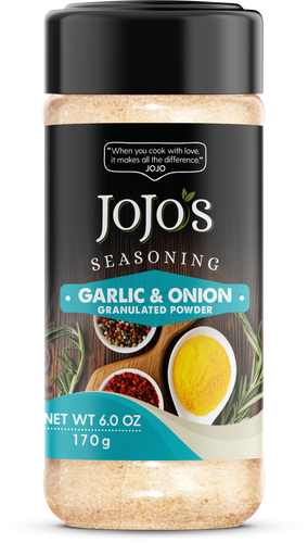 JoJo's Garlic Onion Seasoning