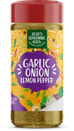 JoJo's Garlic Onion Lemon Pepper Kid's Spice