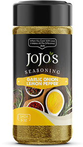 JoJo's Garlic Onion Lemon Pepper Seasoning