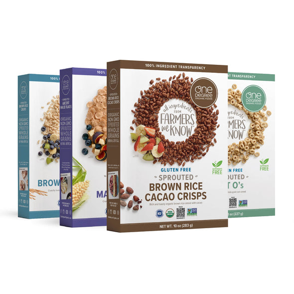 One Degree Organic Cereal Variety Pack