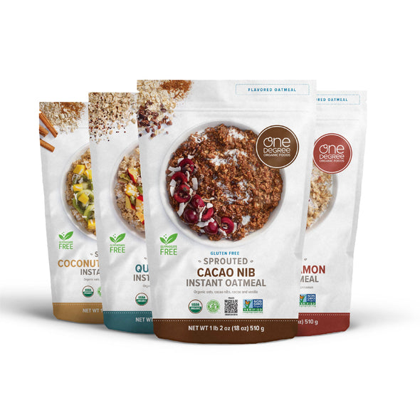 one degree instant oatmeal variety pack