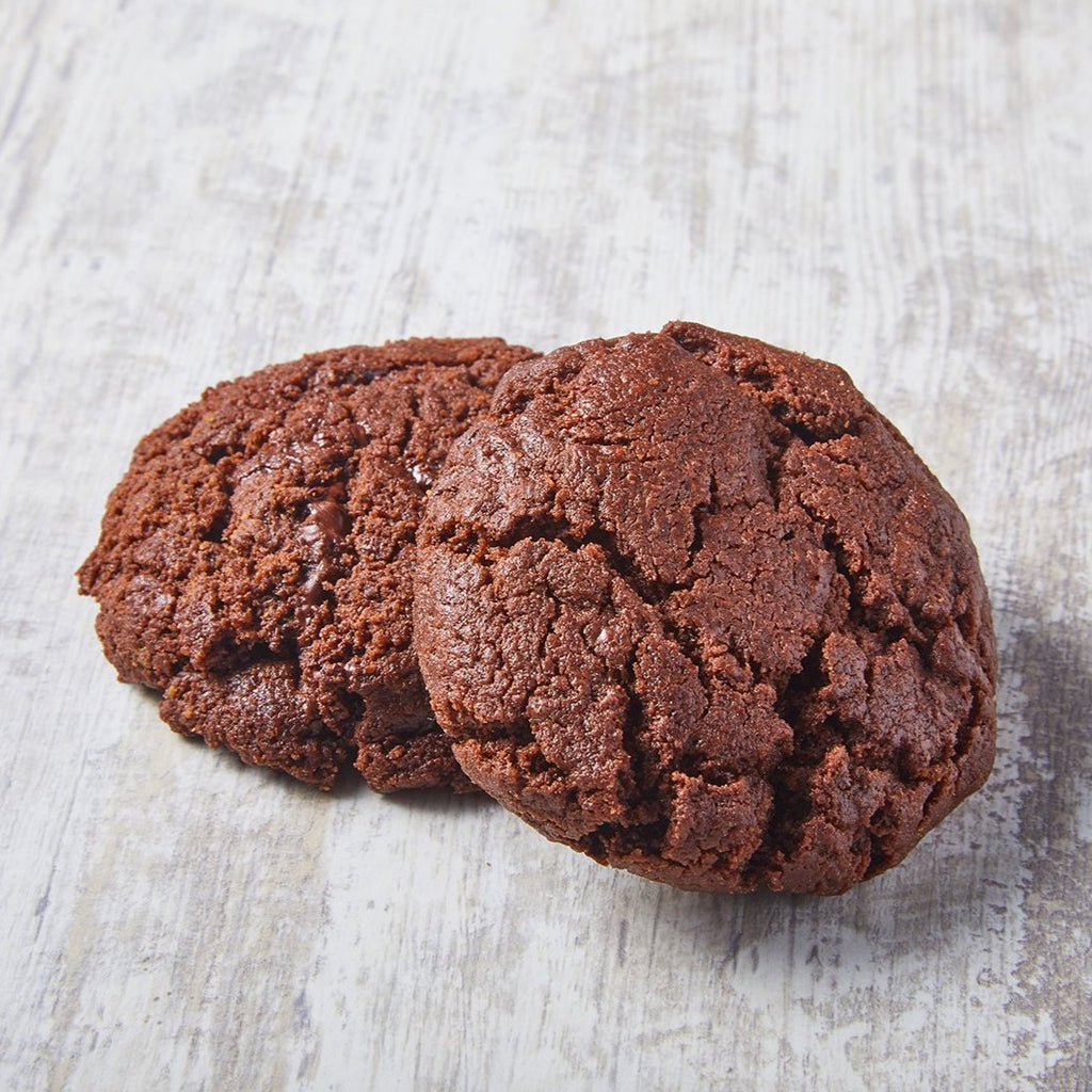 Cookies de triple chocolate