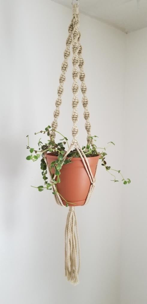 Small Macrame Hanger - accessories