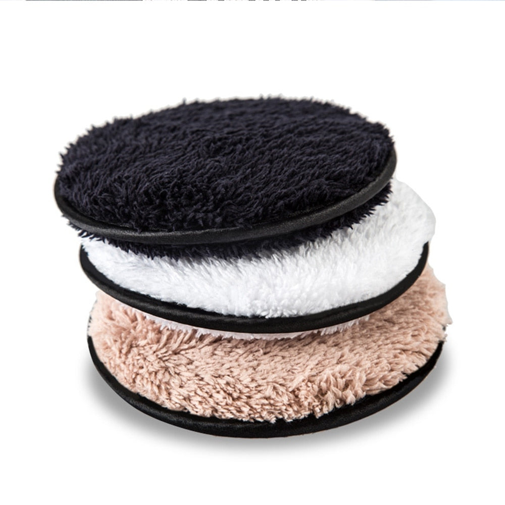 Makeup Remover puff Microfiber Cloth Pads