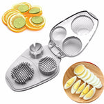 Multi egg slicer Three-in-one Egg Multi-function Fancy Egg Cutter Food Divider Egg Cutter Tool
