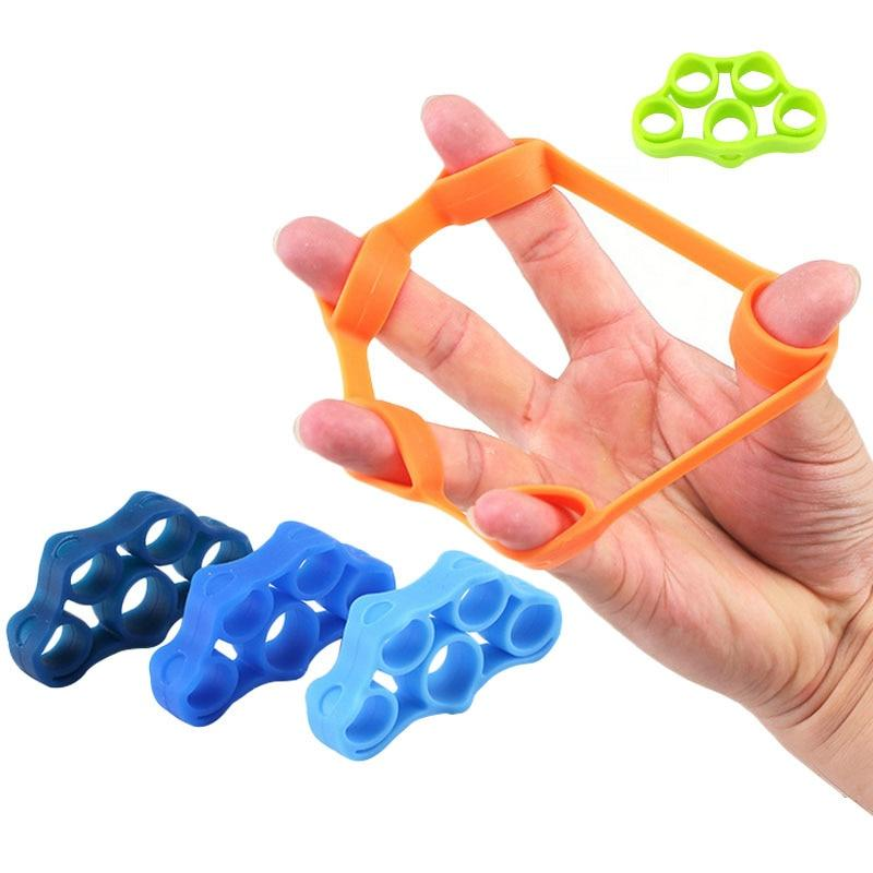 Finger resistance rubber bands