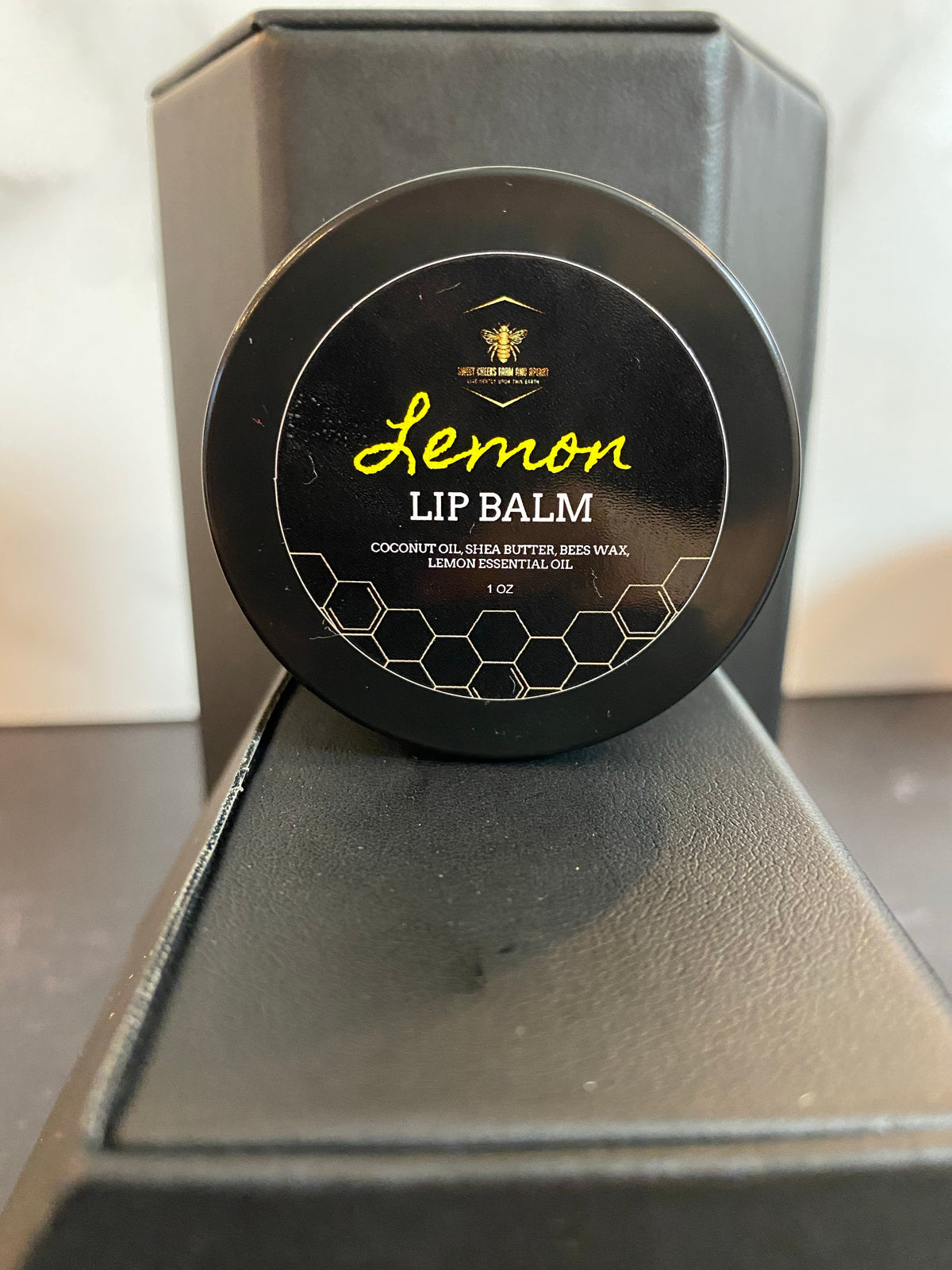 Lemon Lip Balm 1 oz