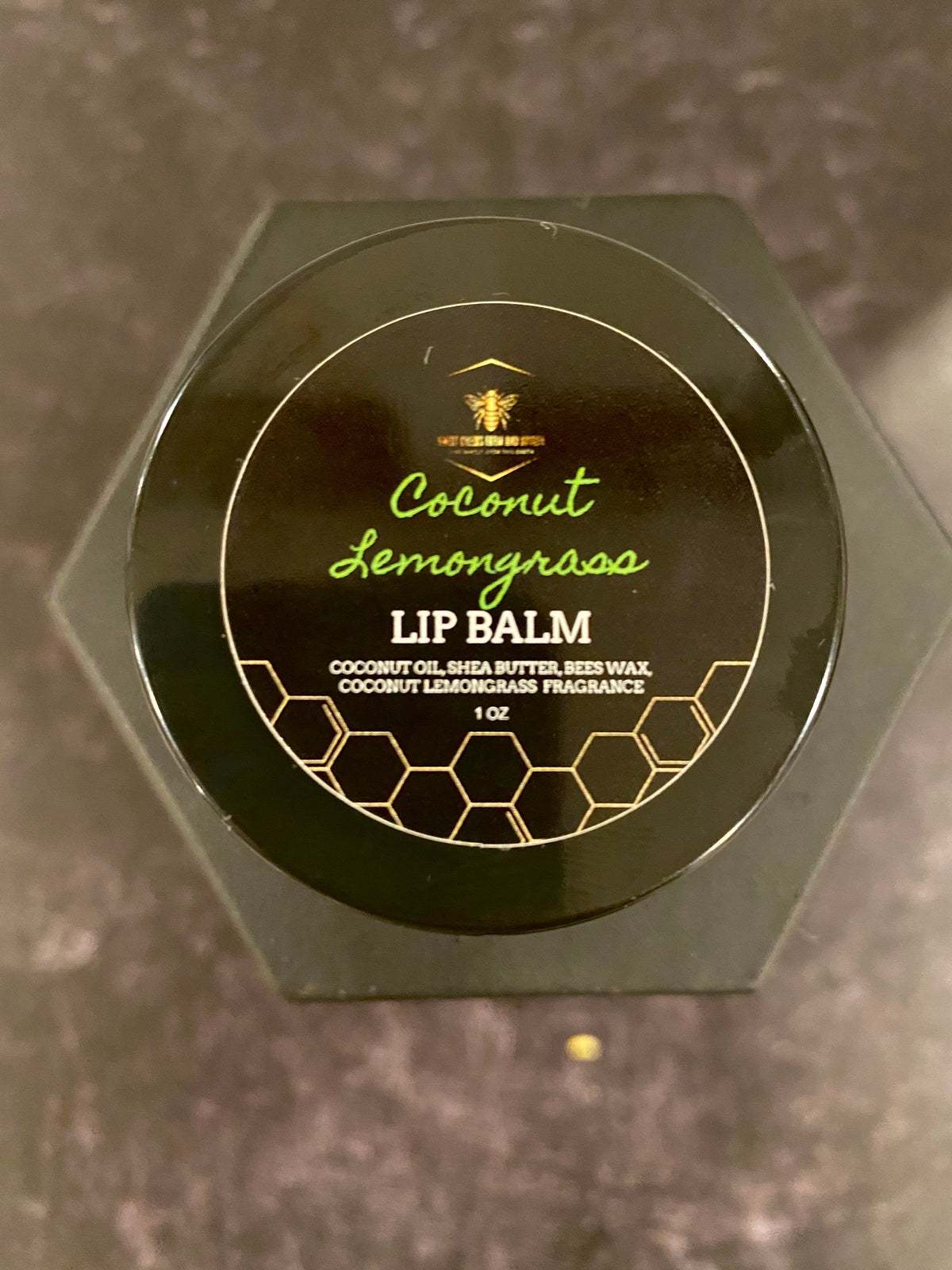 Coconut Lemongrass Lip Balm 1 oz