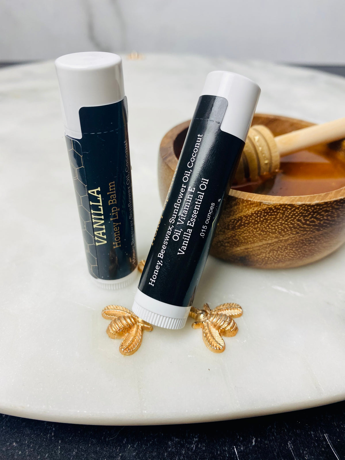 Vanilla Honey Lip Balm in Tube