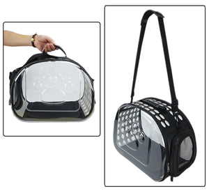 Breathable Cat Transparent Bag