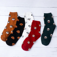 Load image into Gallery viewer, Women Puppy Cartoon Socks