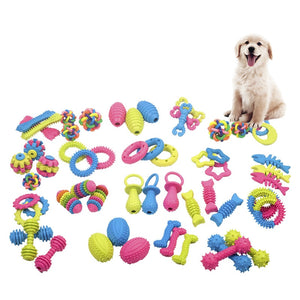 Chewy Toys Sets For Dogs - Whiskerr