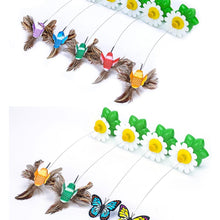 Load image into Gallery viewer, Cat Automatic Rotating Colorful Butterfly Toy - Whiskerr