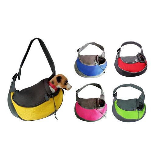 Dog Outdoor Single Shoulder Bag - Whiskerr