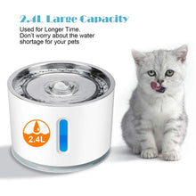Load image into Gallery viewer, 2.4L Automatic Pet Water Fountain Ultra Quiet - Whiskerr