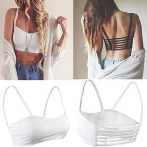 Trendy Fashion Strappy Bandage Summer Bra Crop Top Bustier Casual Women's Gifts