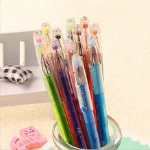 Load image into Gallery viewer, Colourfull 0.5mm Rollerball Gel Pens Fine Point Cute Cartoon Colorful Gel Pen Set Creative Gift (Color: Multicolor) wbb