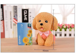 The Environmental Material Simulation Model Piggy bank cute dog