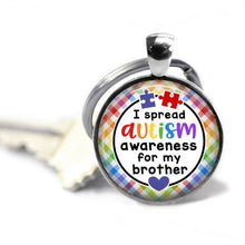 Load image into Gallery viewer, New Autism key chain - Autism mom - Autistic son - Autistic daughter - For my friend - Someone I love - For my sister - Autism awarenesstheof