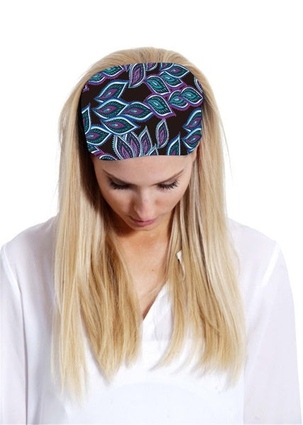 Running Fitness Graphic Women Fancy Accessories Workout Headband Hairband