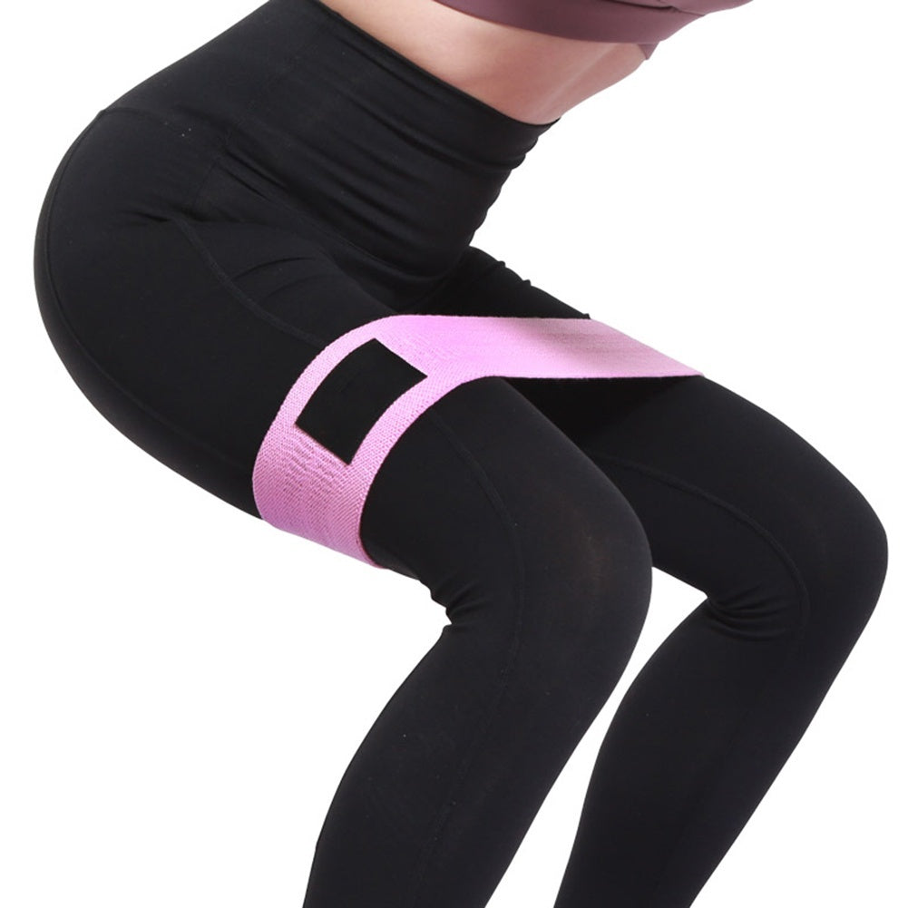 Hip Resistance Band Non-Slip Squat Hip Thruster Loop for Booty Exercise Fitness