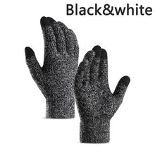Load image into Gallery viewer, Men Women Winter Thermal Knitted Gloves Warm Wool Velvet Fleece Full Finger Mittens Full-Palm Antiskid Gloves