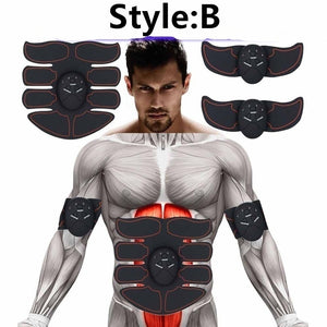 New Professional EMS Abdominal Muscle Trainer Smart Body Building Fitness Abs Sets(Style A, Style B, Style C)