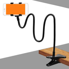 Load image into Gallery viewer, Flexible 360 Rotation Clip Mobile Cell Phone Holder Lazy Bed Desktop Bracket