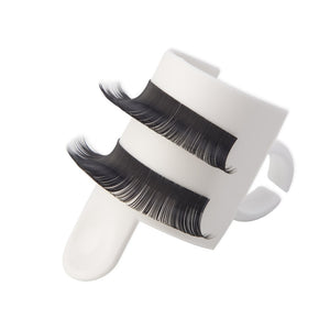 Eyelash Extension Glue Ring Adhesive Eyelash Pallet U-shape Holder Set U-band False Eyelashes Holder Makeup Kit Tool Device Tool