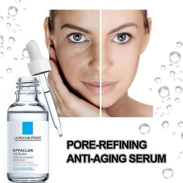 Effaclar Serum with Glycolic Acid / Pore-refining Anti-aging Serum.