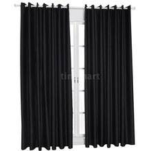 Load image into Gallery viewer, 2 Panel Blackout Curtains Thermal Insulating Room Darkening Curtains for Living Room 39'X51'