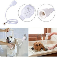Load image into Gallery viewer, Flexible Pet Dog Cat Shower Head Hair Wash Rubber Washing Shower Head