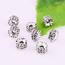 Load image into Gallery viewer, Nice 30pcs Tibetan silver Round Loose Spacer Beads DIY Jewelry Making 7x4mm XZ18130#
