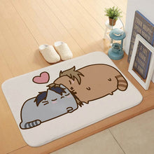Load image into Gallery viewer, Cute Pusheen The Cat Doormat Kitchen Bathroom Door Floor Table Anti-slip Mat Rugs Carpet 40x60cm 15.7inches*23.6inches