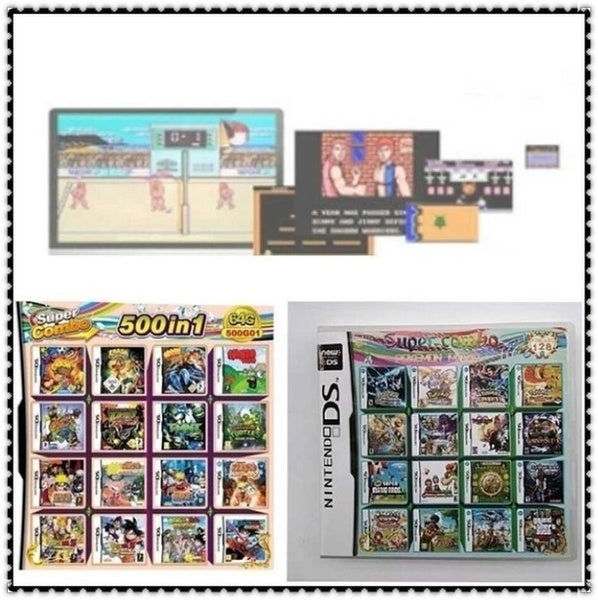 500/208 New Game Card Multiple Game Collection