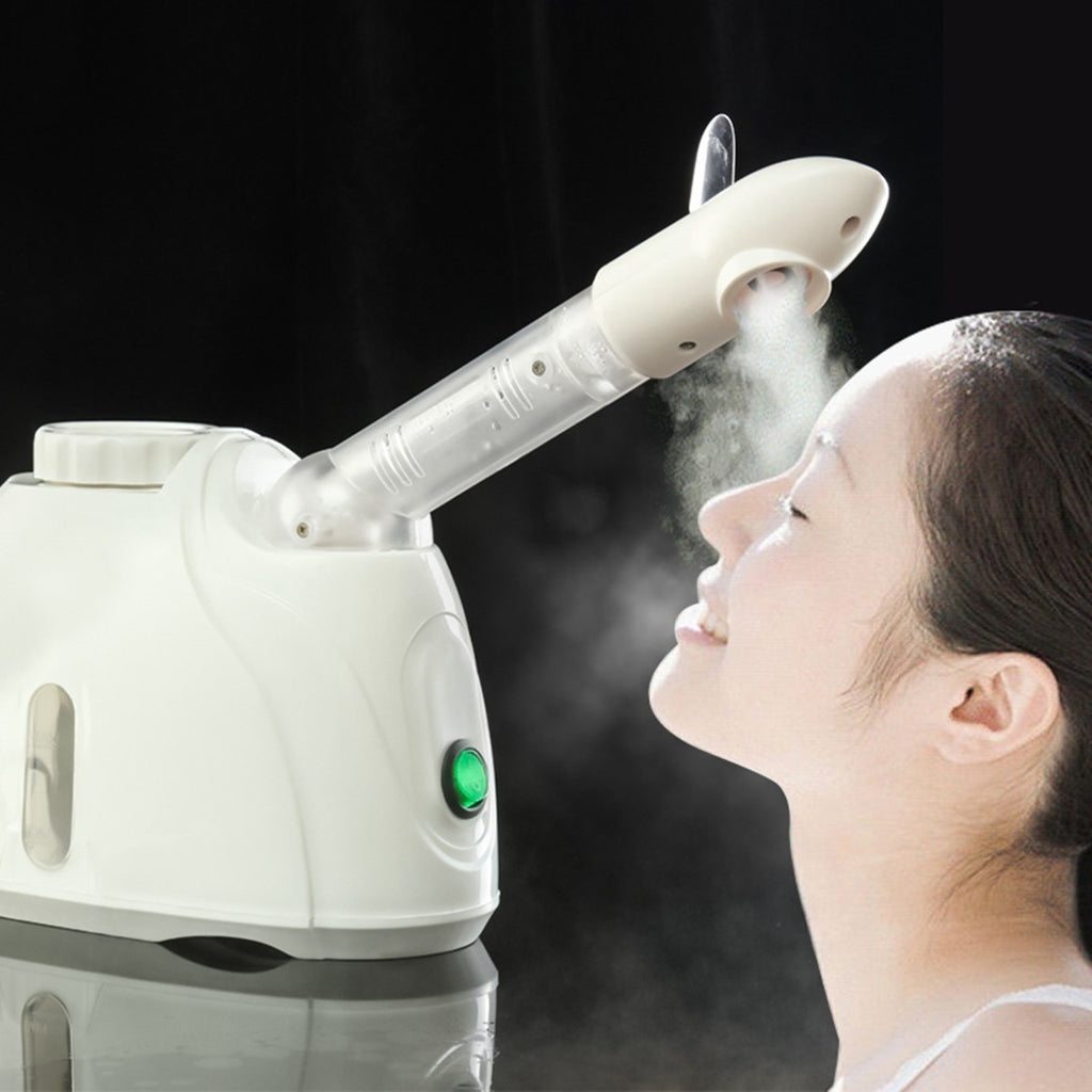 Ozone Facial Steamer Face Sprayer Vaporizer Beauty Salon Skin Care Instrument Machine (Size:20x8x14.5cm)