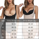Women Seamless Body Shaper Compression Shapewear Underbust Slimmer Waist Tummy Control Slimmer Belly Underwear