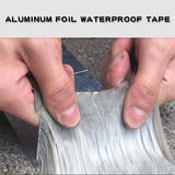 Aluminum Foil Butyl Rubber Tape Self Adhesive High temperature resistance Waterproof for Roof Pipe Repair Stop Leak Sticker