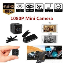 Load image into Gallery viewer, SQ11 Mini Micro HD Camera Dice Video Night Vision HD 1080P Camcorder Motion Sensor Hidden Camera Monitors Wifi Remote Monitoring
