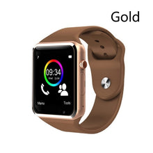 Load image into Gallery viewer, Bluetooth Smart Wrist Watch A1 GSM Phone For Android Samsung iPhone Man Women