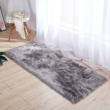 Load image into Gallery viewer, 9 Colors Oversized 90X160/80x120cm/70x180cm Faux Fur Fluffy Wool Rug Mat Hairy Sofa Floor Home Room Carpet Chair Seat Cover