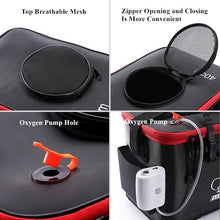 Load image into Gallery viewer, Portable EVA Fishing Bag Collapsible Fishing Bucket Live Fish Box Water Container Pan Basin Tackle Storage Bags for Fishing/Camping/Hiking
