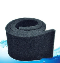 Load image into Gallery viewer, 50*10*2cm Black Biochemical Cotton Filter Foam Sponge Aquarium Fish Tank Pond
