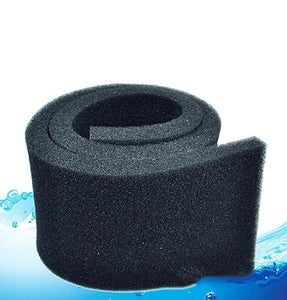 50*10*2cm Black Biochemical Cotton Filter Foam Sponge Aquarium Fish Tank Pond